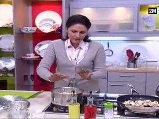 RECette CHOUmicha - recette facile champignons de paris