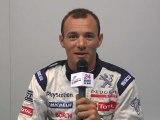 24 Heures du Mans 2011, interview de Stéphane Sarrazin pilote de la Peugeot n°8