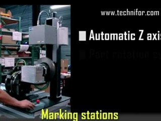 Technifor – XF510m Electromagnetic machine – Dot peen marking