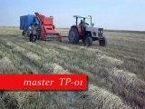 HUBUBAT(Buğday,Arpa,Fiğ) TOPLAMA MAKİNASI (master TP-01 Otomatik Toplar Harman Makinesi)