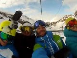 Premières traces des testeurs snow Glisshop.com