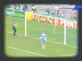 Mickaël Landreau rate une Panenka en finale de la Coupe de la Ligue 2003-2004