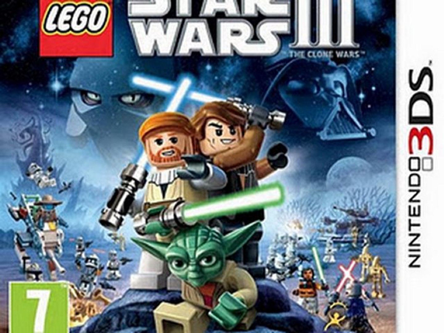 Lego Star Wars III The Clone Wars 3D 3DS Game Rom Download (EUROPE)