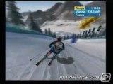 Torino 2006 (PS2) - Une épreuve de ski alpin.