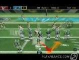 Madden NFL 2006 (PSP) - La suite du match entre Falcons et Panthers !