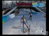 Torino 2006 (PS2) - Une épreuve de ski de fond.