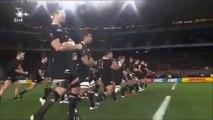 Finale coupe du monde rugby 2011 Haka des All Blacks face au XV de France!