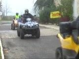 TELETHON 2011 : Randonnée Quads à Villamblard (24-Dordogne)