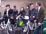 Des Vélos et des cyclos électriques à la CPAM de l'Aude. Les employés ont troqué leur auto pour rouler plus écolo !