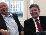 Jean-Luc Mélenchon et Oskar Lafontaine s'adressent aux salariés européens