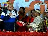 (VIDEO) Presidente entrega Titulos de Tierra a varias etnias indigenas de la Sierra de Perija