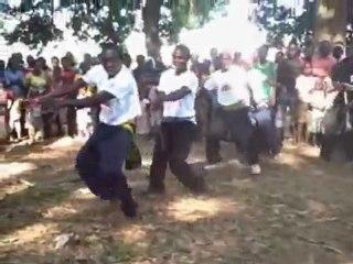 Caravan of Hope 7: Welcome dance in Malawi
