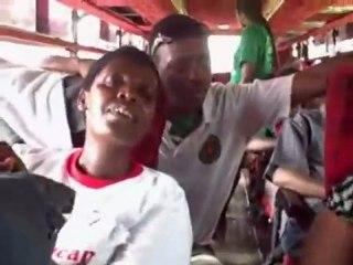 Caravan of Hope 5: Singing in the bus