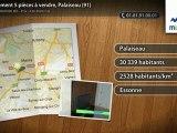 Appartement 5 pièces à vendre, Palaiseau (91)
