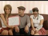 """Camilla et Julie - """"ENGLISH LESSON"""" avec Jean-Marc Barr (le voisin)"""