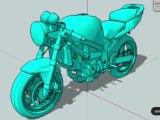 Milloh V2 Custom Bike - Pt. 1 [Suzuki SV 650 - Render]