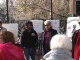 Rassemblement des Indignés samedi 10 décembre 2011 Montélimar