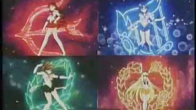 Sailor Moon (Bishôjo senshi Sailor Moon) 1992-1997 : Transformations 2