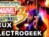 "Jeux Electrogeek 96 test ""Ultimate Marvel vs Capcom 3"" [X360/PS3]"