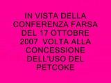 ITALCEMENTI  15 OTTOBRE 2007 SODANO NO ALLA CONFERENZA PETCOKE