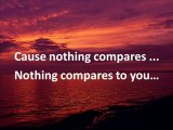 Karaoke - Nothing Compares To You