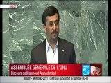 Discours de Mahmoud Ahmadinejad à l'Assemblée Générale de l'ONU 2011 Ordo Ab Chao