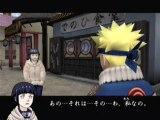Naruto : Uzumaki Ninden (PS2) - Déroulement du jeu : cut scene puis mission.