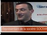 Interviews soirée d'ouverture du Tournoi de Sevran avec Stephane Gatignon