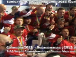 "2012 FIRS the ""OFFICIAL WORLD ROLLER IN LINE HOCKEY CHAMPIONSHIPS"""