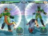 Dragon Ball Z Budokai Tenkaichi (PS2) - Cell prend sa revanche sur le puissant Gohan.