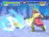 Dragon Ball Z : Shin Budokai (PSP) - San Gohan vs Broly