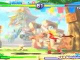 Street Fighter Alpha 3 MAX (PSP) - Maki & Mika vs Dhalsim