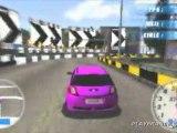 Juiced : Eliminator (PSP) - Une Megane en piste