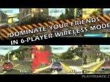 Burnout Dominator (PSP) - Un premier trailer de cette version PSP du jeu.