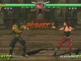 Mortal Kombat : Unchained (PSP) - Scorpion dans ses oeuvres