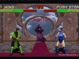 Mortal Kombat II (PS3) - Deux combats mortels
