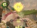 Bob L'éponge et ses amis : Attaque sur l'Île du Volcan (PS2) - Combat contre un boss