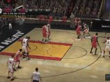 NBA Live 08 (PS3) - Chicago Bulls vs Miami Heat