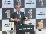 Julio Iglesias, su último discurso a los medios