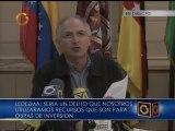 Ledezma responsabilizó al Presidente por secuestro de trabajadores de su despacho
