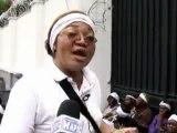 marche des mamans de l'opposition contre les fraudes électorales 19 dec 2011
