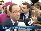 François Hollande mobilise ses sympathisants par mail et SMS