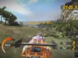 MotorStorm: Pacific Rift (PS3) - Une voiture de rallye sur Beach Comber