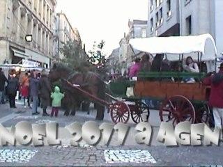 Boulevard de la République à Agen Noël 2011