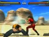 Dragon Ball : Evolution (PSP) - Goku vs Chichi