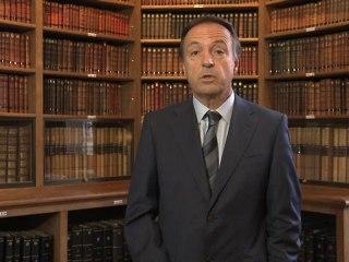 Jean-Pierre Bel présente le questionnaire sur les états généraux aux élus