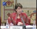 Magdalena Álvarez pide perdón en el Congreso por el colapso de Madrid