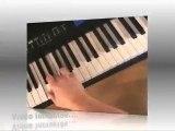 Cours de piano - Les renversements d'accords de 3 sons
