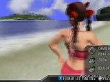 Rumble Roses XX (360) - La perdante doit prendre une pose sexy dans son costume préféré !