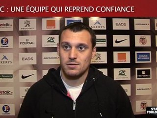 Montpellier-Stade : ITV de L. Beauxis